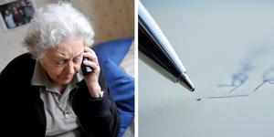Sedan den 1 september är det lag på skriftliga avtal vid telefonförsäljning vilket innebär att konsumenter som blir uppringda får mer tid för eftertanke innan de bestämmer sig. Men trots det behöver papper och penna inte vara inblandade. Ett avtal kan lika gärna skrivas digitalt, det vill säga på datorn eller i mobiltelefonen. Bild: Fredrik Sandberg/TT, Bertil Ericson/TT