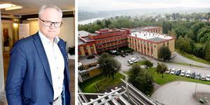 Glenn Nordlund (S) skriver i sin insändare att Sollefteå sjukhus ska fortsätta att utvecklas. Foto: Ove Öst och Hanna Persson.