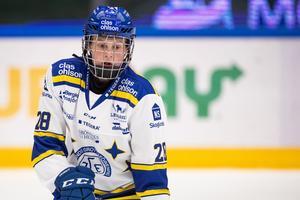 Leksandsbacken Annie Silén är med i U18-VM i Slovakien. Foto: Daniel Eriksson/Bildbyrån.
