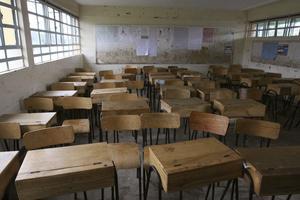 Miljoner skolbarn blir utan undervisning när skolorna stänger till följd av coronapandemin. Arkivbild.