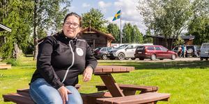 Oliva Söderlund är glad och tacksam över det stora engagemang som visas i byn, inte minst i samband med Hede Byfest.