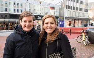Victoria Palmcrantz från Malmö och Isabel Erling Framdahl från Hagaberg i Västerås.