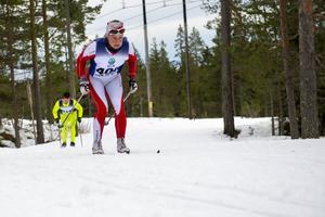 Jessica Ericsson, Stockviks SF, korsade mållinjen först av alla i damernas 40 kilometer.