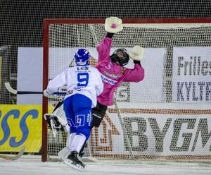 Frillesås målvakt Jakob Hugoh.