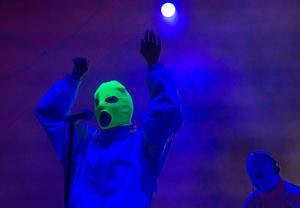 Pussy Riot-framträdande i Mexiko tidigare i år. Snart Gävle. Foto: Christian Palma/AP