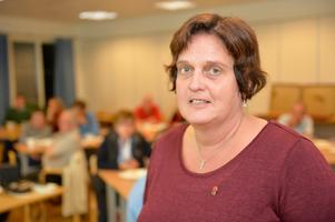 Riksdagsledamot Marie Olsson från Orsa.