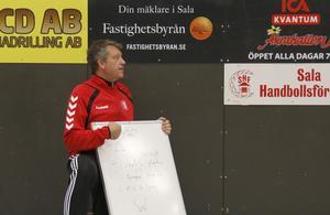 Anders From berättar om hur han har lagt upp träningen.