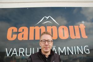 Jonathan driver i dag företaget Campout i Tenhult tillsammans med sin bror.
