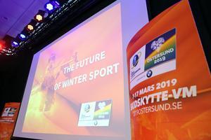 Framtiden för vintersporter diskuterades under seminariet.