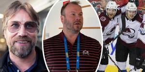 Henrik Gradin är sedan ett år tillbaka Europascout för Colorado Avalanche. Foto: Linn Grundberg/Jennifer Engström/TT.