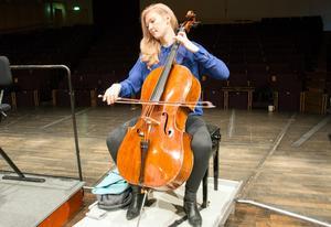 Schemat är späckat för Amalie Stalheim - cellist på väg mot toppen.