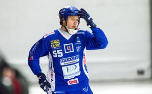 Johan Koch är inne på sin tionde säsong i Vänersborg. Det blir minst två till. Fotograf: David Eriksson