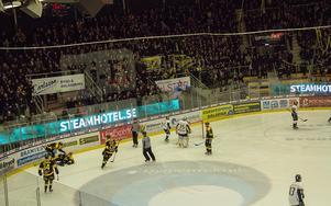 I just den här situationen. 20 sekunder efter att han gjort 1–0 mot Borlänge.