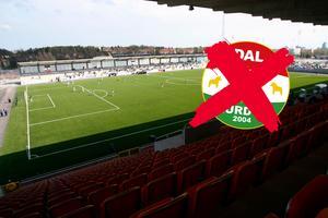 Västerås stad säger nej till att låta Dalkurd använda Solid Park Arena. Foto: Peter Kruger