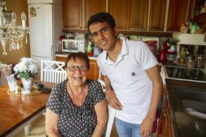 Rigmor Lindberg Karlsson öppnade sitt hem för Amin Abdullah när han behövde en adress att bo på för att få stanna i Söderhamn.