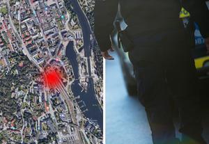 Bilden är ett montage. Bild: Google Maps & Fredrik Sandberg/TT
