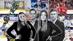 Jennifer Engström, Jacob Sjölin, Elin Bergvik Eriksson och Adam Johansson har tagit fram listan. Foto: Bildbyrån.