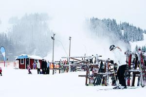 Foto: Johan SörensenDet har varit en rekordvinter vid Säfsen Resort denna vinter.