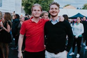 David Hendel och Carl Tersmeden Snickars.