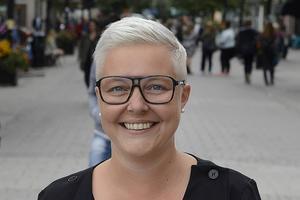 Maria Persson, ny centrumledare i In-gallerian.