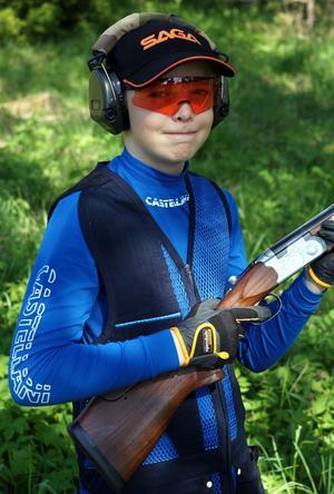 12-årige Marcus Tullberg.