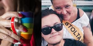 – Stöd från familjen ger styrka för hbtq-personer som vill leva i öppenhet. Det säger Martin Larsson med mamma Camilla Hagman i nätverket Stolta föräldrar. Både laddar nu för Pridetåget i Falun 14 september.