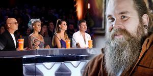 Juryn i Americas got talent och Chris Kläfford. Bilden är ett montage.