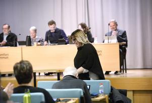 Malin Svanholm (S) tackade för fullmäktiges förtroende  och efter nyår övertar hon rollen som Kramfors nya kommunalråd efter avgående Jan Sahlén.