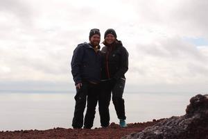 Thomas och Tina har erfarenhet av friluftsliv och tror inte nätterna i tältet under vintern blir så problematiska.
