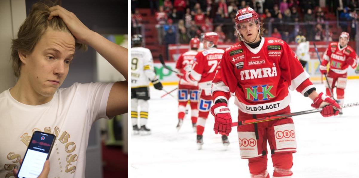 """Timråbacken jagas av SHL-klubbar efter starka säsongen – men stänger inte dörren till Timrå: """"Trivs jäkligt bra"""""""