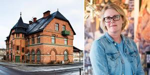 Jennie Saporito drömmer om att starta upp en restaurang i det gamla stationshuset.