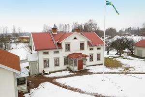 Denna elvarumsvilla i Hedemora fick 5 625 klick på Hemnet under vecka 9, vilket var den sjätte högsta notering bland hus från Dalarna. Foto: Fotograf Patrik Persson
