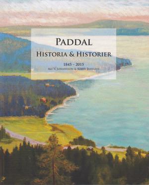 Bilden på omslaget till boken är en tavla med utsikt från Paddalsberget målad ca 1940. Konstnären är okänd.