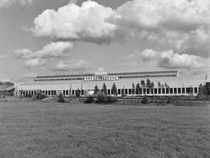 Horndalsverken avbildat tidigt 1953. Brukets historia i Horndal tog slut med nedläggningen 1979 – men orten har levt vidare. Foto: Gunnar Sälgström.