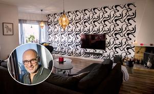 En bild från Jocke Sandströms lägenhet i centrala Sundsvall fanns också med i tävlingen.