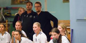 Fredrik Olsson (vänster) hoppas att Sala Silverstaden kan undvika negativt kval