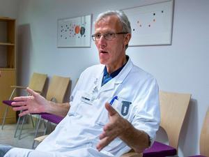 Leif Israelsson, länsverksamhetschef för kirurgin i Region Västernorrland.