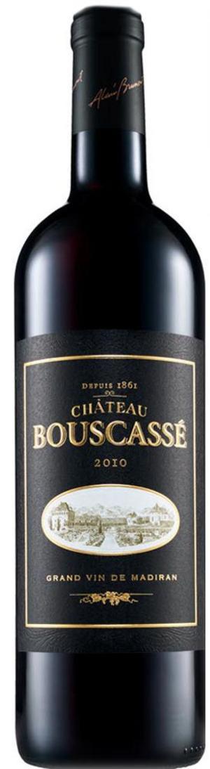 Det sydfranska rödvinet Château Bouscassé vann det kanske mest prestigefyllda priset Årets rödvin i ordinarie sortimentet.