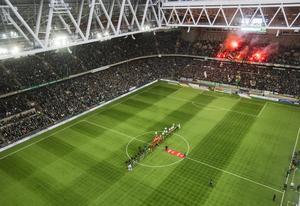 Fem byten kan bli aktuellt i den svenska elitfotbollen. Arkivbild.
