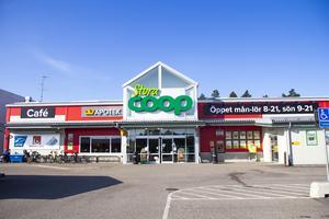 Stora Coop i Bollnäs är den av Coops större butiker i Hälsingland som går bäst.