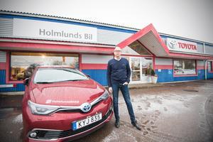 Holmlunds bil har haft verksamhet i Krylbo i 53 år. I framtiden kan delar av verksamheten flytta närmare Avesta, närmare bestämt till Bergsnäsområdet. Ambitionen är att bygga en ny bilhall.