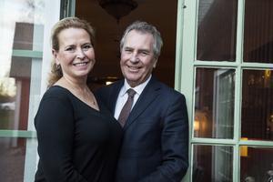 Mia och Jens Spendrup, värdpar på Grythyttans Gästgivaregård sedan 2014.