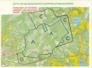 Foto: Försvaret. Skjutfältet i Falun.