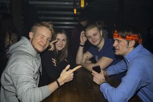 Emil Westling, Erica Kraft, Gabriel Böcke och Ole Fredholm.