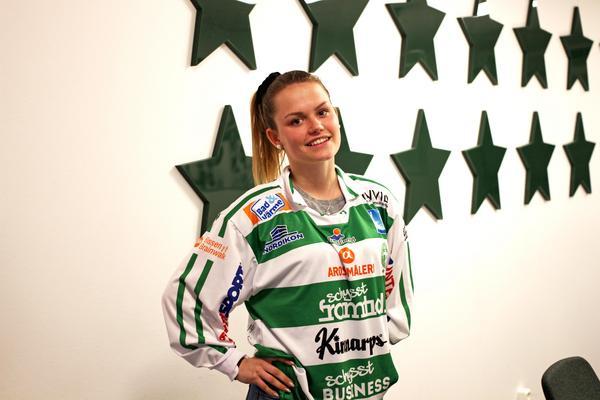 Emelie Åkerlund är VSK:s hittills enda presenterade nyförvärv inför nästa säsong. Foto: Dan Persson/VSK