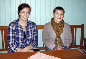 Bebyggelseantikvarierna Anna Larsdotter och Ulrika Olsson vill slå ett slag för de gamla köken.
