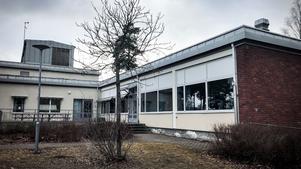 Eleven hade haft slöjdlektion här, på Malmabergsskolan, och var på väg tillbaka till Brandthovdaskolan.