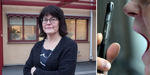 Kristina Ragnarsson är verksamhetschef på vårdcentralen Britsarvet/Grycksbo. Hon är kritisk mot att vårdcentralerna måste stå för räkningen när patienterna ringer vårdappar som drivs av privata vårdbolag.