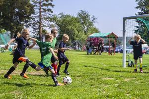 Bollnäs GIF fotbollsförenings interna fotbollsliga avgjordes för barn mellan 7 och 9 år.