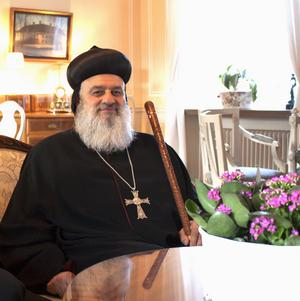 Sedan drygt fyra år tillbaka är Ignatius Aphrem II patriark och överhuvud över den syrisk-ortodoxa kyrkan.
